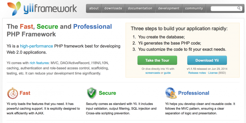 best php framework for large scale applications