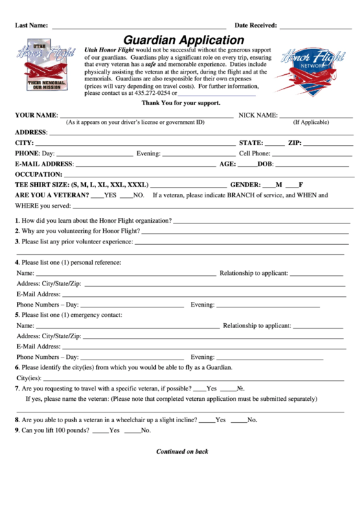 cpp application form information sheet