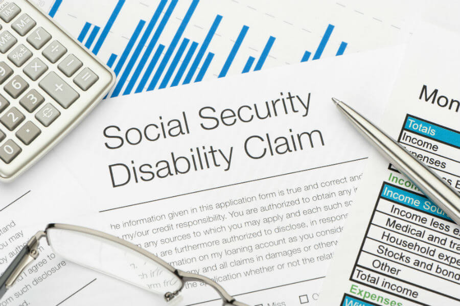 social security disability benefits application form