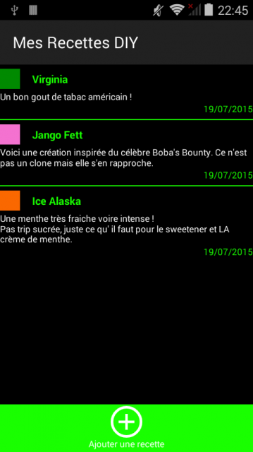 application android pour windows phone