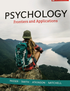 psychology frontiers and applications 5th edition