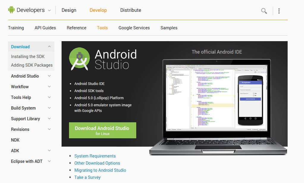android application development tutorial for beginners pdf