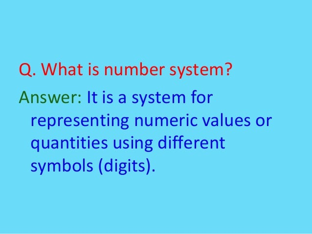applications of binary number system