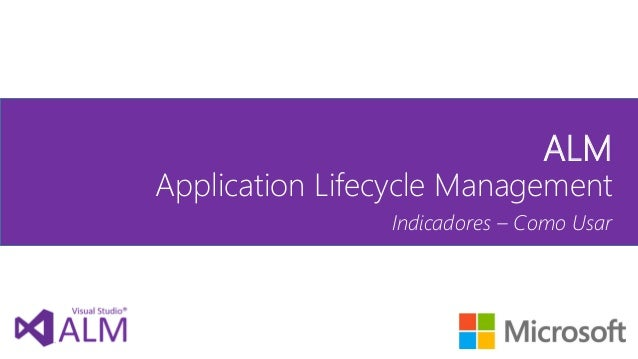visual studio application lifecycle management alm
