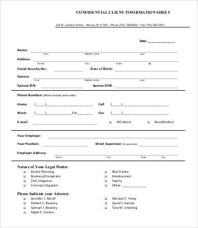 account application form template word