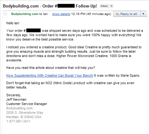 how to write a job application follow up email