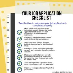 job application examples filled out