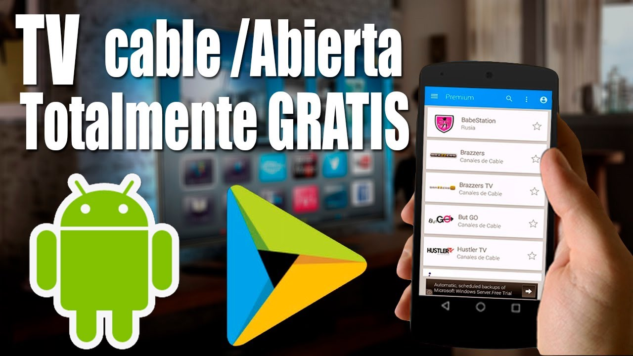 application android tv en direct