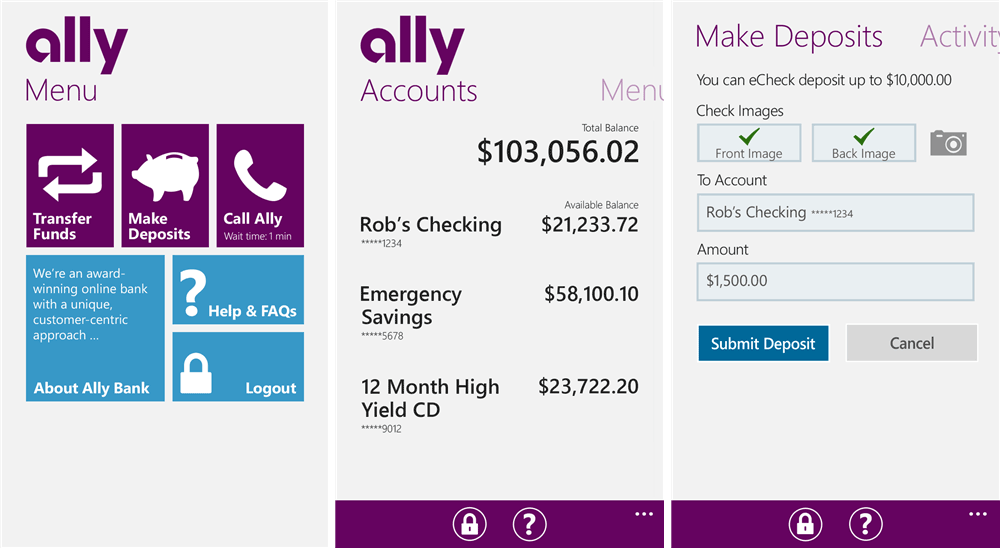 application for checkbook in bank