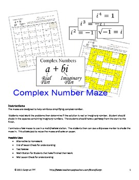 application of complex numbers pdf