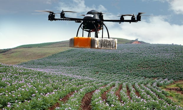 application of pesticides in agriculture