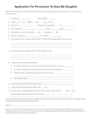 application to date my sister