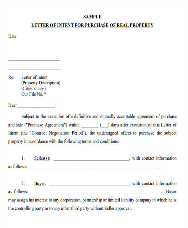 application to lease commercial property