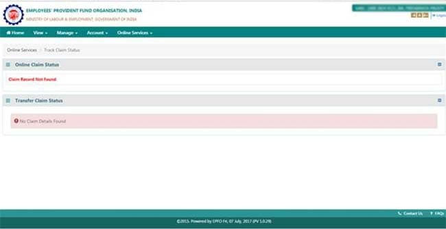 check ssn application status online