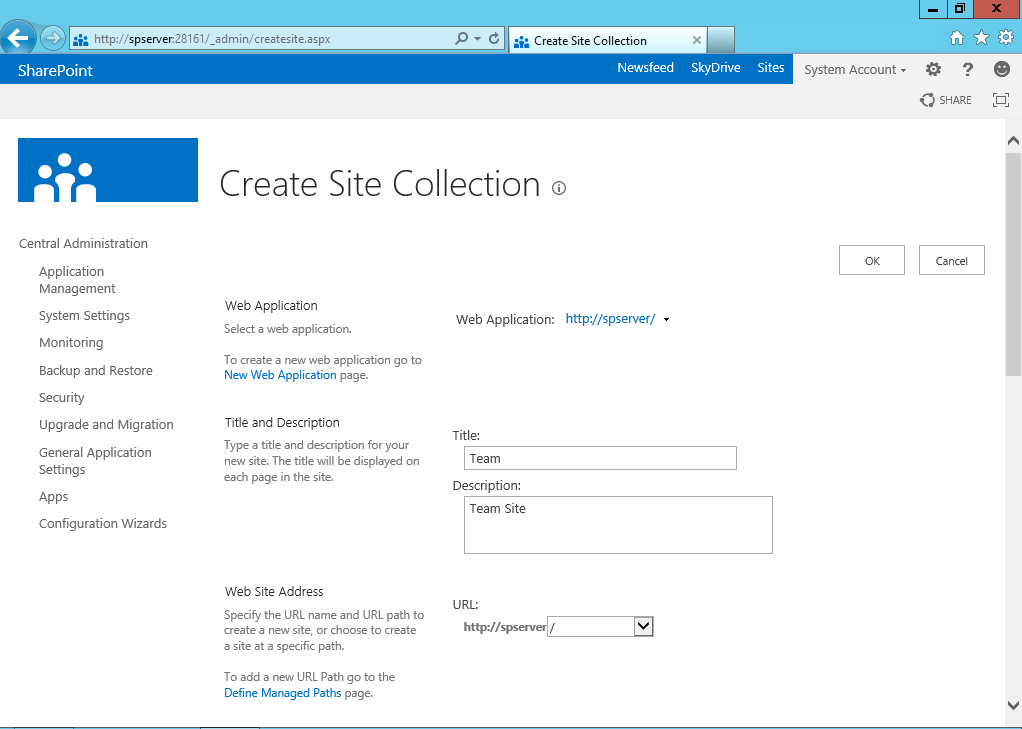 create application page in sharepoint 2013