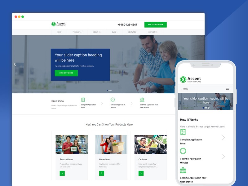 single page application bootstrap template